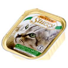 Cibo per gatti Cat con Vitello e Carote 100 gr