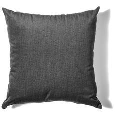 Cuscino Da Arredamento 45x45 In Velluto Melange' Colore Antracite