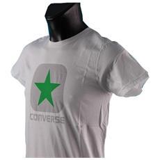T-shirt Uomo Logo Man Basic M Bianco