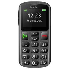 "SL250 Senior Phone Display 2.0"" con Tasti Grandi + Tasto SOS Bluetooth Colore Nero e Argento - Europa"