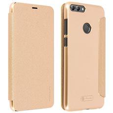 Custodia Huawei P Smart Con Paillette Protezione Integrale Oro Nillkin