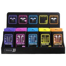 FUSION, Intraurale, Multicolore, 5 - 20000 Hz, Cablato