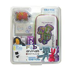 NDS - Custodia + Kit FABric FAB Pak Elephant per DSLite e DSi