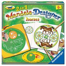 Mandala 2 in 1 Designer Horses