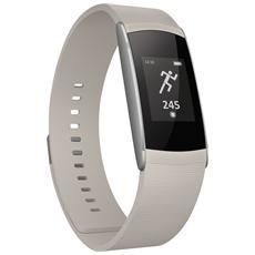 WiMate SmartBand Crema con Contapassi, Sensore di frequenza cardiaca - Italia