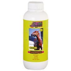 Shampoo naturale cavalli e puledri antiparassitario 5 lt + 1 lt omaggio