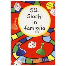 52 giochi in famiglia. Carte