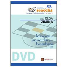 Lezioni di scacchi per bambini. DVD. Vol. 1