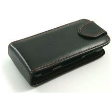 Custodia Flip In Pelle Ecologica Per Sony Ericsson U100