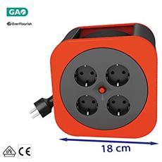 Kabelbox S S-Box rot 10m