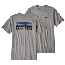 Magliette Patagonia P 6 Logo Responsibili Tee Abbigliamento Uomo