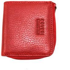 5c49107419 COVERI COLLECTION - Portamonete Uomo Pelle 3 Scomparti Modello Piccolo  217-265 Red