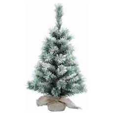 Albero di Natale Artificiale Pino Nevato da 60 cm