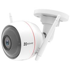 VIDEOCAMERA IP Wireless EZVIZ Husky Air Plus Bianca-2MP-Risol. 1920x1080 25fsp-IP66 IR fino 30mt-microSD (non incl)