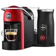 LAVAZZA - Macchina da Caffè Espresso Jolie&Milk Potenza 1250 Watt Colore Rosso