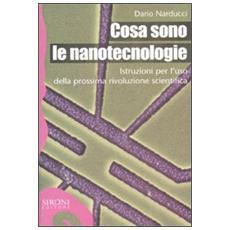 Cosa sono le nanotecnologie. Istruzioni per l'uso della prossima rivoluzione scientifica
