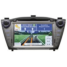 Sintomonitor con Sistema di Navigazione OF7050 Supporto MP3 / WMA / MPEG / AVI / JPG Display 7'' USB / AUX / Slot SD 4x40Watt Hyundai ix35