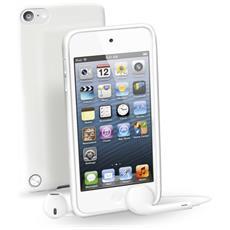 MP3SHCKITOUCH5W Custodia in Gomma per iPod Touch 5 Colore Bianco