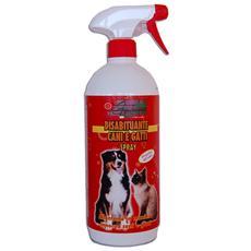 Disabituante repellente allontana anti cani gatti prodotto naturale spray 1 lt.