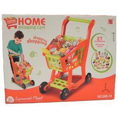 Carrello Della Spesa Supermarket Gioco Per Bambine *04405