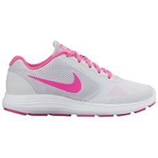 Scarpe Revolution Gs Referenza 819416 007 Colore Bianco Running Calzabilità Ottimale E Massimo Comfort Taglia 37 1/2