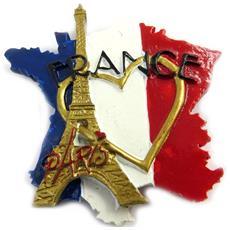 magnet 'france' tricolore - [ m1360]
