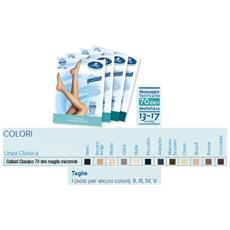 Sauber Collant 70 Micr Ne Taglia 2 Desa Pharma