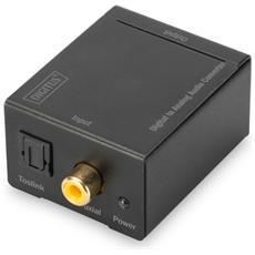 Convertitore Audio Digitale Toslink-Coassiale A Analogico Rca