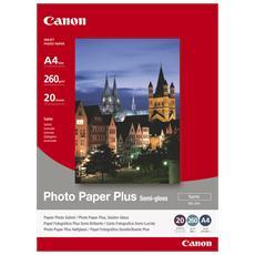 Carta Fotografica SG-201 A4 Semilucida Satinata 20 Fogli 260 g / m2