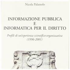 Informazione pubblica e informatica per il diritto