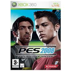 X360 - Pro Evolution Soccer Pes 2008