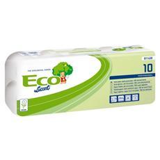 Carta Igienica ecologica 2 veli - 200 strappi confezione da 10 pz