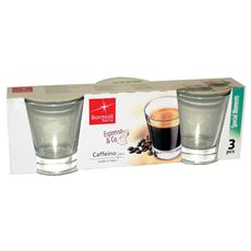Confezione 3 Bicchieri - Limoncino Caffeino