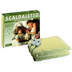 SGR Scaldaletto, Peluche 50% Lana, Matrimoniale