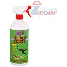 Repellente disabituante allontana anti scorpioni prodotto spray naturale 500 ml