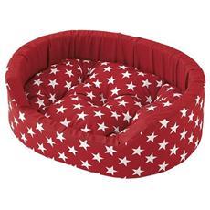 Dandy 80 Cuscino Con Stelle Rosso