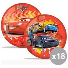 Set 18 Pallone 23 Cm. Cars 2 06044 Giocattoli