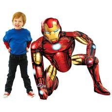 Palloncino Gigante A Forma Di Iron Man 116 Cm *11807 Marvel