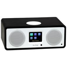 Radio Digitale Dab Play R3 - Bt 90a Deep Black - Wifi Spotify Internet Radio Bletooth