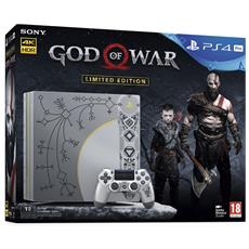 SONY - Console Playstation 4 Pro 4K e HDR 1 Tb + God of...