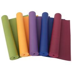 Tappeto Tappetino 173x61cm Sottile Spessore 3 Mm Per Aerobica Fitness Yoga Palestra Stretching Allenamento Colore Casuale