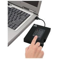Aegis Padlock Fortress 1TB, 1000 GB, 5400 RPM, USB 3.0, Cablato, 5000 Mbit / s, FIPS 140-2