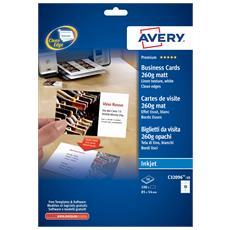 AVERY - Biglietti da visita Quick&Clean Inkjet...