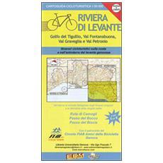 Cartoguida cicloturistica. Riviera di Levante. Ruta, Bocco, Biscia