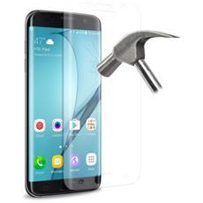 """Pellicola Protettiva in Vetro Temperato per Galaxy S7 Edge 5.5"""" Trasparente"""