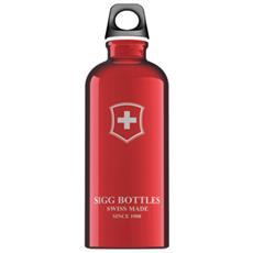 Bottiglia Swiss Emblem Red 0,6 Lt Unica Rosso