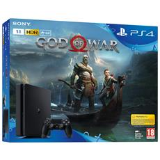 SONY - Console Playstation 4 PS4 1 Tb Slim Black + God of...