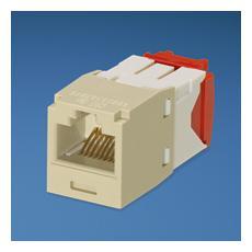UTP RJ45 Copper Jack Module, Cat5e, Electric Ivory RJ45 RJ45 cavo di interfaccia e adattatore