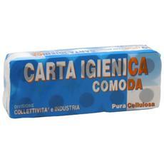 Carta igienica Lucart - Pura cellulosa - 2 veli - 155 strappi