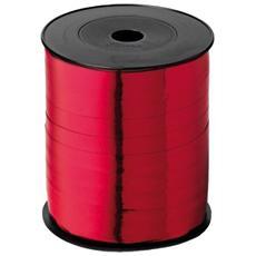 Nastro in Rocchetto per Regali Formato 10 mm x 250 m Rosso
